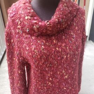 Hearts Of Palm Cowlneck Sweater Mohair